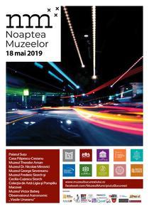 Noaptea Muzeelor 18 mai 2019