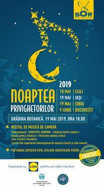 Noaptea Privighetorilor 2019 - program