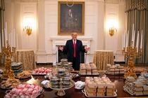 Ospatul lui Trump la Casa Alba