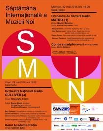 Săptămâna Internațională a Muzicii Noi 2019