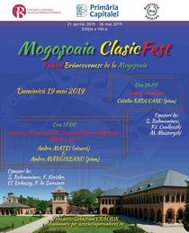 Mogoșoaia ClasicFest - 19 mai 2019