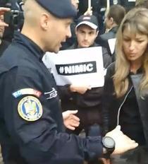 Protest la Targu Mures