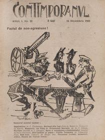 Revista Contimporanul, anul I, numarul 22 din 16 decembrie 1922