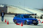BMW Seria 3 pe circuitul Academia Titi Aur