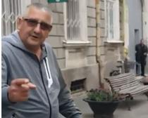 Protestatarul anti-Iohannis din Timisoara