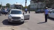 Politia restrictioneaza intrarea in Targoviste din cauza mitingului PSD