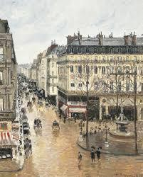 Camille Pissarro Rue Saint-Honore in the Afternoon