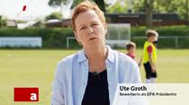 Ute Groth, candidata la presedintia DFB