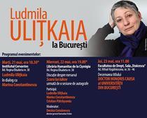 Ludmila Ulițkaia la Bucuresti