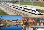 Trenul Praga - Dresda
