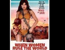 """afis film """"cand femeile conduc lumea"""""""