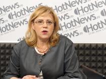 Corina Cretu in studioul HotNews.ro