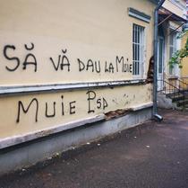 mesaj obscen pe sediul PSD Botosani