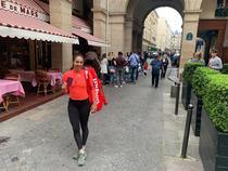 Mihaela Buzarnescu a votat la Paris