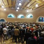 Aglomeratie la vot la Torino