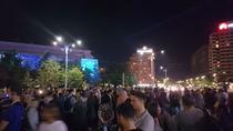 Manifestatie Piata Victoriei