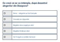 Sondaj vot diaspora