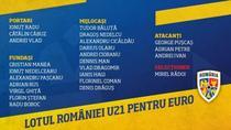 Lotul Romaniei la CE U21 2019