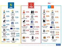 Profil votanti PSD, PNL si USR