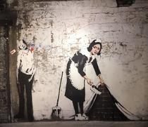The Maid - Banksy