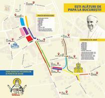 Restrictiile din timpului vizitei Papei la Bucuresti