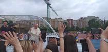Papa Francisc, in papamobil