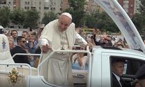 Papa Francisc, la București