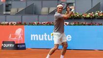 Roger Federer, in Caja Magica