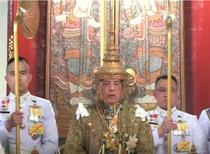 Regele Thailandei la incoronare