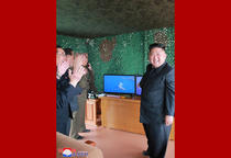 Kim Jong UN, la teste cu rachete in Coreea de Nord 7