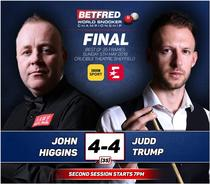 John Higgins vs Judd Trump