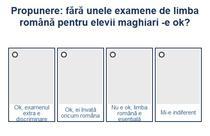 Sondaje examene elevi maghiari