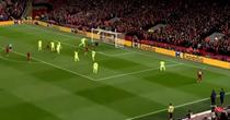 Faza golului 4 marcat de Liverpool