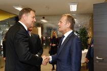 Klaus Iohannis și Donald Tusk