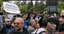 Protestatari Dancila Cluj