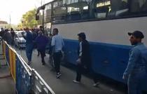 Simpatizantii PSD pleaca de la mitingul din Iasi