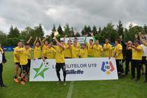 FC Viitorul a castigat Liga Elitelor U19
