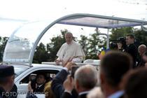 Papa Francisc la Iasi