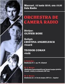"""Simfonia """"Jupiter"""", dirijată de Olivier Robe la Sala Radio"""