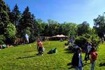 Vreme frumoasa in parc