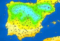 Temperaturile in Spania, pe 12 iunie dimineata