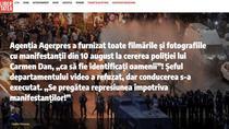 Articolul Libertatea despre cazul Agerpres-10 august