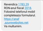 Frauda prin SMS - ANAF
