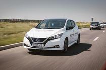 Nissan LEAF la #ElectricRomania