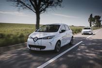 Renault ZOE Z.E. la #ElectricRomania