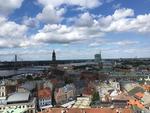 Riga văzută din Catedrala Sf. Petru