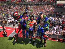 Podium MotoGP Catalonia
