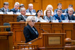 Viorica Dancila, in Parlament