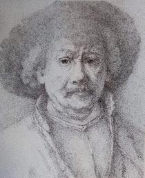 Cristina Dimuș - Portretul pictorului Rembrandt
