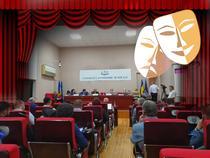 Ședința CES, ca o piesă de teatru